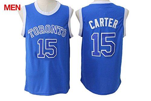 Mens Brand New 2016 New Jersey, Toronto Raptors #15 Vince Carter Blue XXL