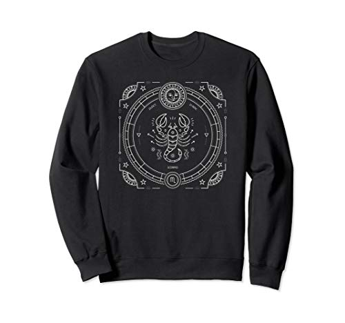 Scorpio Zodiac Star Sign Horoscope October November Sweatshirt