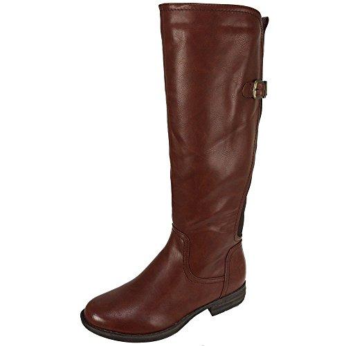 Heavenly Feet - Botas de Material Sintético para mujer Marrón marrón Marrón - marrón