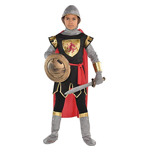 AMSCAN Brave Crusader Halloween Costume for Boys, Small, with Included - Crusader Costume Set