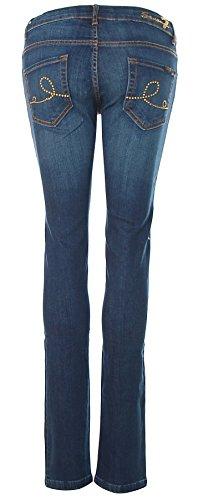 SEVEN7 Damen Jeans Hose Medium Rise-Skinny MIRA Cloud Blue brN8Z1ZD