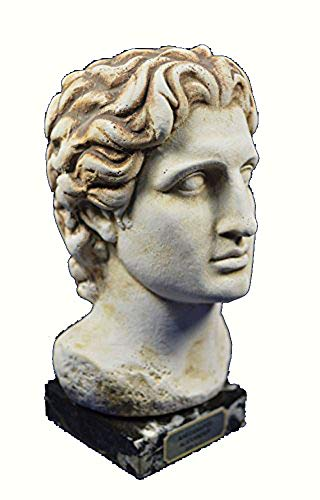 Estia Creations Alexander Sculpture The Great Macedonian King Bust ()