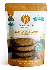 Amazon.com : Good Dee's Snickerdoodle Cinnamon Cookie Mix