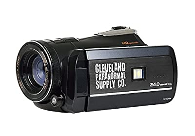 1080p HD Infrared Night Vision and Full Spectrum Camcorder - Ghost Hunting Camera from Cleveland Paranormal Supply Co.