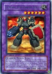 Yu-Gi-Oh! - Elemental Hero Rampart Blaster (DP1-EN012) - Duelist Pack 1 Jaden Yuki - 1st Edition - Rare