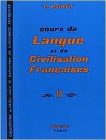 FRANCAISE MAUGER COURS CIVILISATION ET G LANGUE DE DE PDF