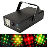 stage lighting Twinkling Star 3-Color Multifunction Disco DJ Club Stage Light with Sound Active Function