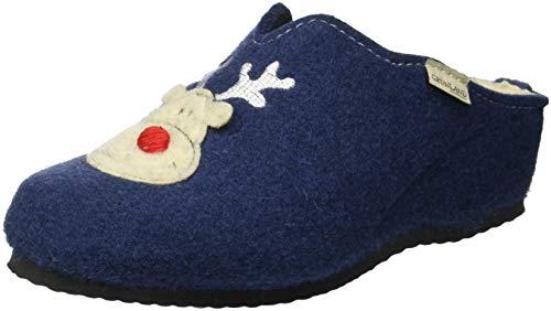 Grunland Chaussures Plage de Bleu Piscine Deni Femme Denim Gaby et r5twr