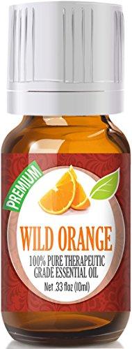 Wild Orange 100% Pure, Best Therapeutic Grade Essential Oil - 10ml ()