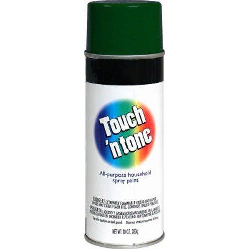 Tone Spray Paint - Touch N Tone Spray Paint 55271830, 10 oz, Gloss Hunter Green