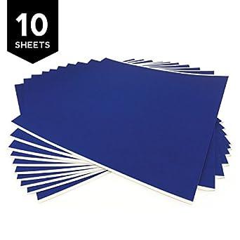 Gizmo Dorks 3d impresión plataforma azul cinta troquelada 10 hojas ...