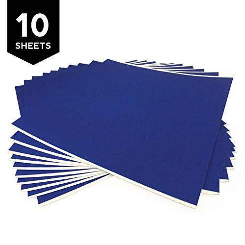 Gizmo Dorks 3D Printing Platform Blue Tape 6'' x 6'' (10 Pack) by Gizmo Dorks