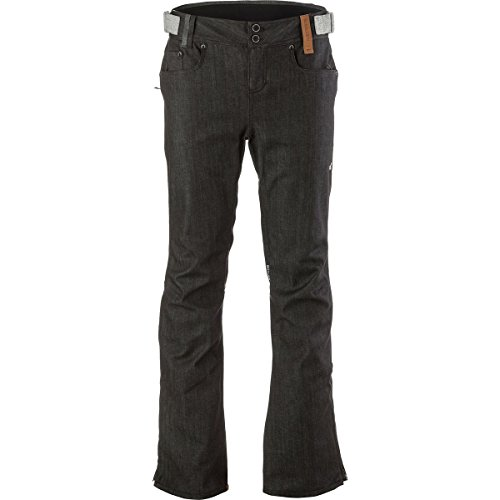 Holden Stretch Genuine Denim Skinny-Pant - Men's Grey Denim, L - Skinny Snowboard Pants Men