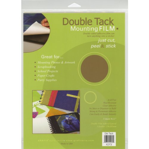 Grafix 9-Inch-by-12-Inch Archival Double Tack, (Grafix Double Tack)