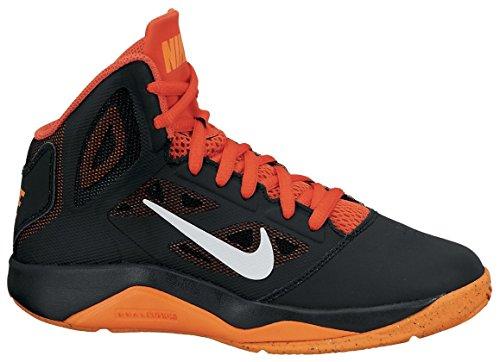 NIKE Chaussures Enfant Garçon Nike dual fusion BB 2(GS) BLK/PR PLTNM TTL Orng de TM Orng