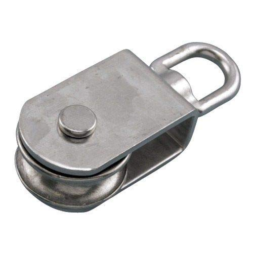 MarineNow 316 Stainless Steel Square Pulley Block 5/8'' Rope x 4'' 100mm Marine by MarineNow