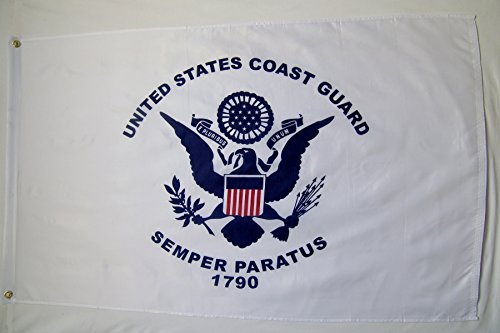 United States Coast Guard Flag 3' X 5' Indoor Outdoor Banner