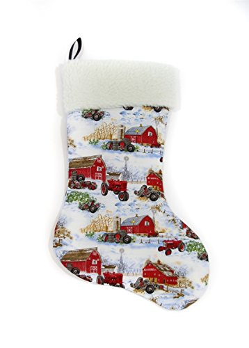 hristmas Stocking, Farmall Cub and H tractors ()