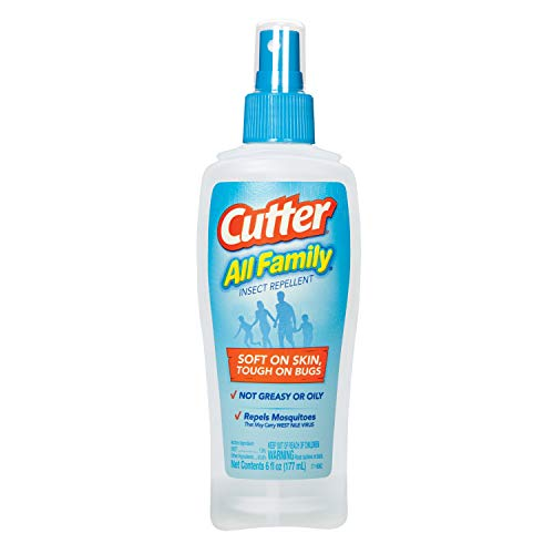 Cutter All Family Insect Repellent Pump Spray, 6-Ounce