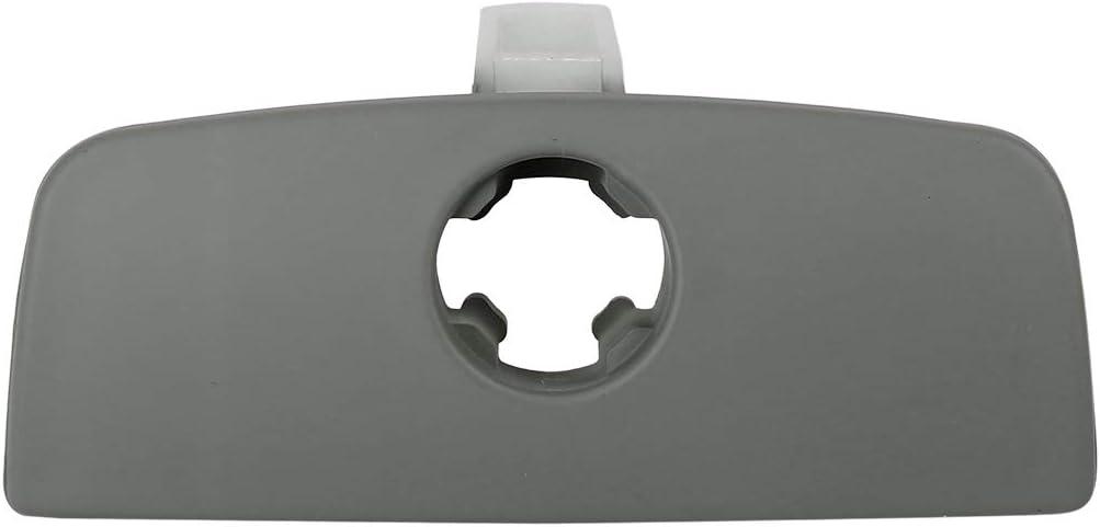 X AUTOHAUX Car Glove Box Lid Lock Latch Handle Gray for VW Passat B5 1998-2005