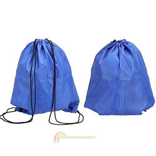 JUJU MALL-Waterproof Shoe Clothes Travel Wash Pouch Tote Storage Bag Case Drawstring (Velvet Pool Cue Case)