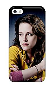 Tpu Case Cover For Iphone 5/5s Strong Protect Case - Kristen Stewart Wide Design