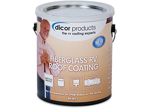 Dicor RPFRC1 Fiberglass RV Roof Coating - 1 Gallon