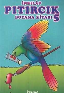 Pitircik Boyama Kitabi 5 9789751049155 Amazoncom Books