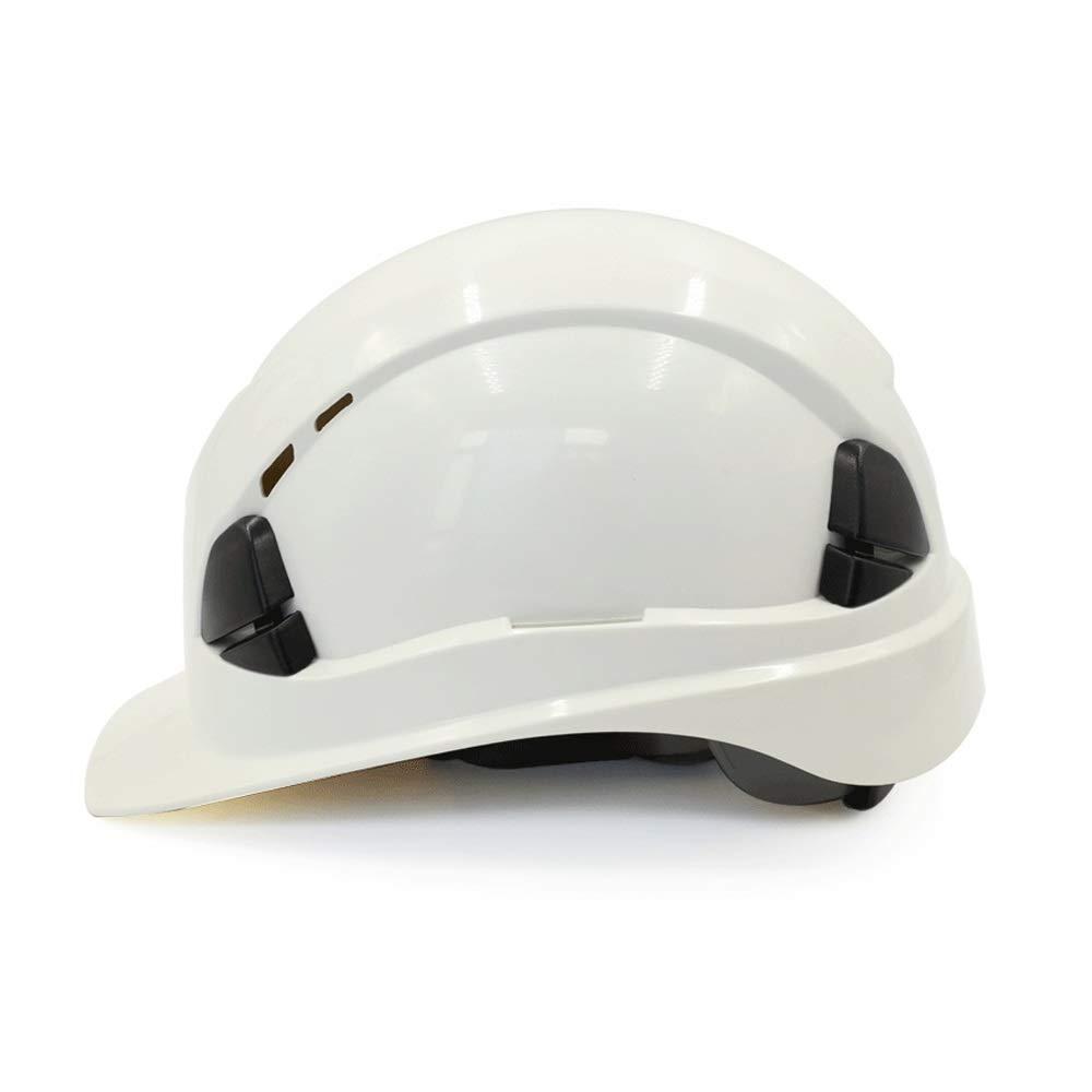 DDSS Safety Helmet - Hard hat site Electrical Construction ABS Flood Control Engineering Leadership Cap Ventilation Construction Labor Insurance high Strength Male Helmet /-/