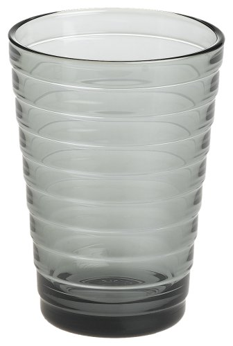 Iittala Aino Aalto 11-3/4-Ounce Grey Tumbler, Set of 2