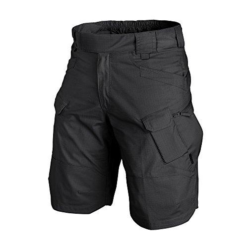 Helikon-Tex UTK Shorts Black Poly Cotton Ripstop Waist 34 Length 11, Urban Line Urban Tactical Shorts