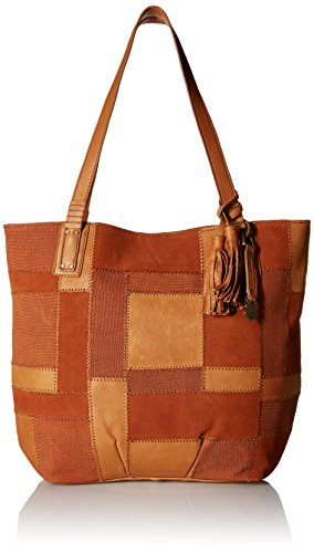 Boho-Chic Vacation & Fall Looks - Standard & Plus Size Styless - Lucky Brand Jade Tote, Tobacco Patch