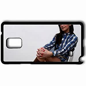 Personalized Samsung Note 4 Cell phone Case/Cover Skin Ashley Greene Black