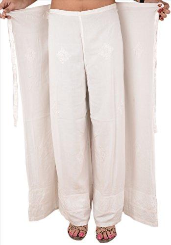 Skirts & Scarves - Pantalón - para mujer blanco