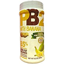 Bell Plantation Pb2 Powdered Peanut Butter, Banana, 6.5 Ounce