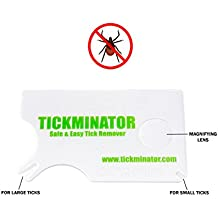 Tickminator Tick Removal Tools. Tick Remover Kit For People, Dogs, Cats. Help Prevent Lyme Disease, Remove Tick Borne Diseases (1 Pack)