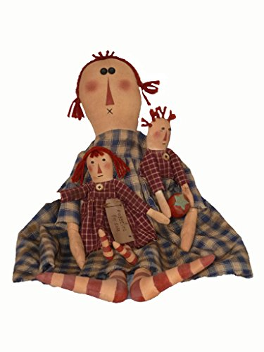 Decor Craft Inc (Craft Outlet Raggedies for Sale Doll, 24-Inch)
