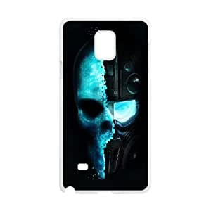Samsung Galaxy Note 4 Cell Phone Case White Tom Clancy Ghost Recon 640x Hrdlj