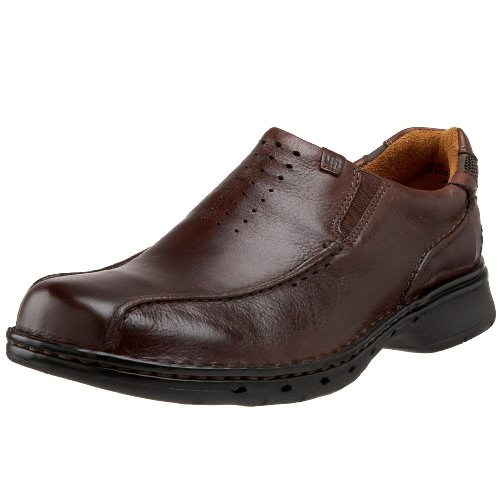 Clarks Unstructured Men's Un.Seal Casual Slip On,Brown,11 W US ()