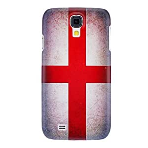 TY Red Cross Pattern Hard Case for Samsung Galaxy S4 I9500