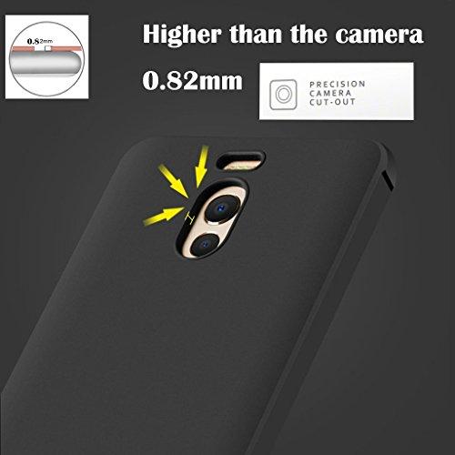 Meizu M6 Note Funda, Calidad Premium Cubierta Delgado Caso de TPU Silicona Funda Protective Case Cover para Meizu M6 Note Negro