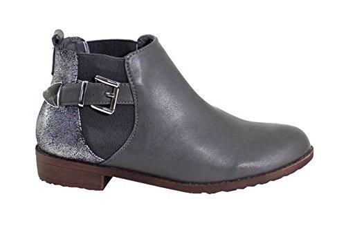 Da Di Boots Fashion Shoes Grigio Donna Sxgq48twx