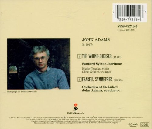 Adams: Fearful Symmetries / The Wound-Dresser