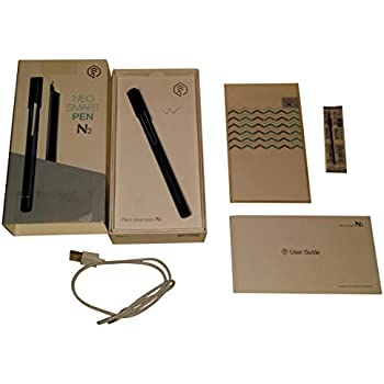 Neo smartpen N2 (Titan Black) for IOS and Android Smartphones and Tablets
