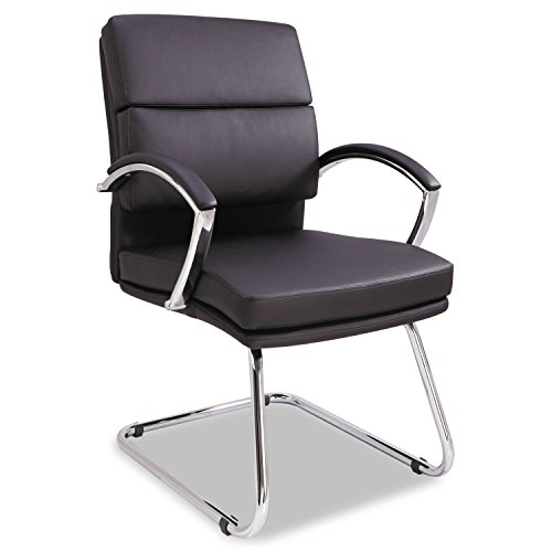 neratoli-series-slim-profile-guest-chair-black-soft-leather-chrome-frame-by-alera