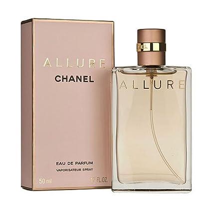 1401ea580 CHANEL ALLURE WOMAN Eau De Parfum 50ML: Amazon.es: Belleza
