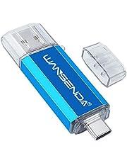 Memoria USB Pendrive 128GB USB 128GB Tipo C USB 3.0 OTG USB Stick para Tipo-C Android Dispositivos/PC/Mac