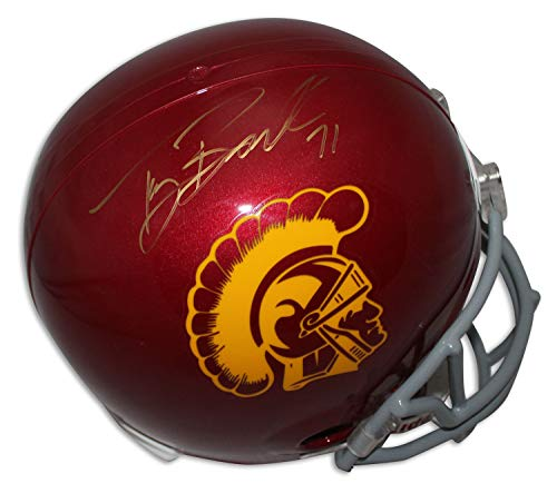 (Tony Boselli USC Trojans Autographed Full Size Riddell Replica Helmet - Certified Authentic Signature)