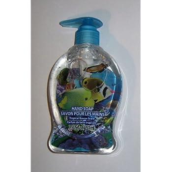 Children 39 s novelty hand soap dispenser with for Fish soap dispenser
