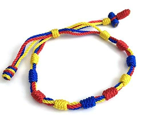 Colombia Flag Bracelet Fan Soccer Bangle Copa America ()